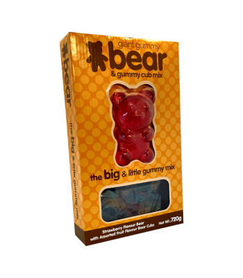 Giant Gummy Bear & Gummy Cub Mix - 720g  Sweets and Candy Rose Marketing