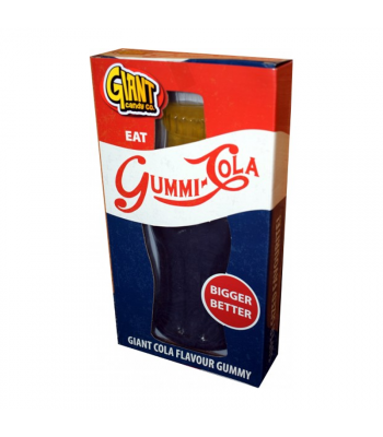 Giant Gummy Cola Bottle - 800g Soft Candy