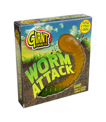 Giant Gummy Worm Attack - 800g Gift Hampers