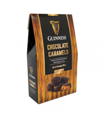 Guinness Chocolate Caramels - 90g Sweets and Candy Rose Marketing