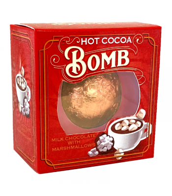 Hot Cocoa Bomb Milk Chocolate With Marshmallows - 24g Sweets and Candy Rose Marketing