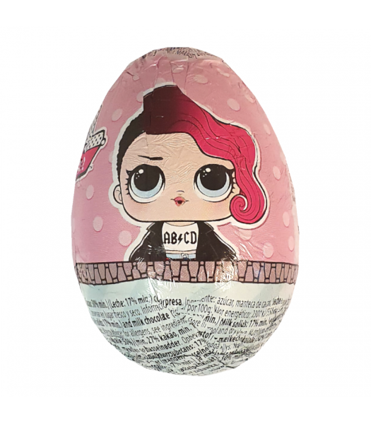 LOL Surprise Glitter Series Milk Chocolate Egg - 20g Sweets and Candy