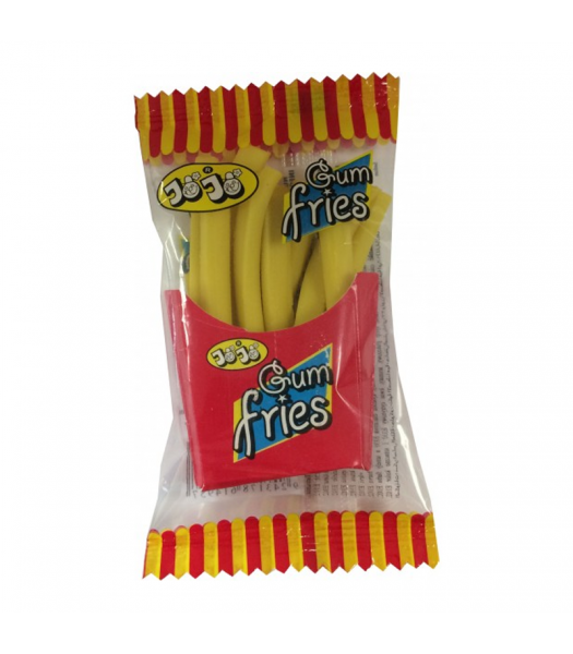 Mr Chips Gum Fries Bubblegum Chips - 15g Sweets and Candy