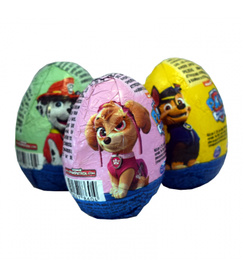 Paw Patrol Milk Chocolate Egg - 20g Sweets and Candy