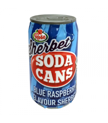 Rose Sherbet Soda Cans 3 Flavour - 35g Sweets and Candy Rose Marketing
