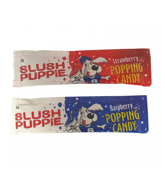 Slush Puppie Raspberry & Strawberry Popping Candy - 2g Sweets and Candy Rose Marketing