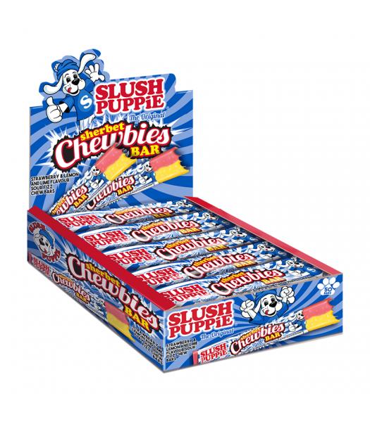 Slush Puppie Sherbet Chewbies Bar - 25g Sweets and Candy Slush Puppie