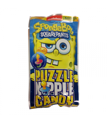 Spongebob Squarepants Puzzle Candy 14g Sweets and Candy