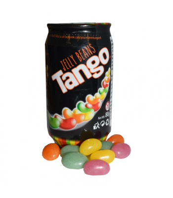Tango Jelly Bean Cans - 80g Sweets and Candy