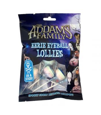 The Addams Family Eerie Eyeball Lollies - 120g  Rose Marketing