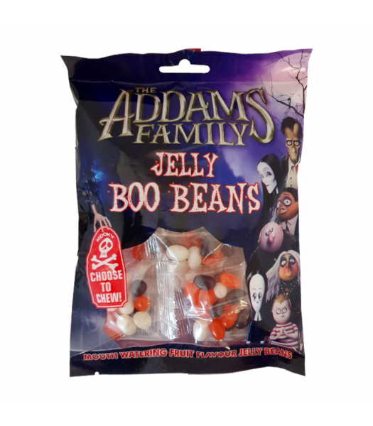 The Addams Family Jelly Boo Beans - 120g Sweets and Candy Rose Marketing