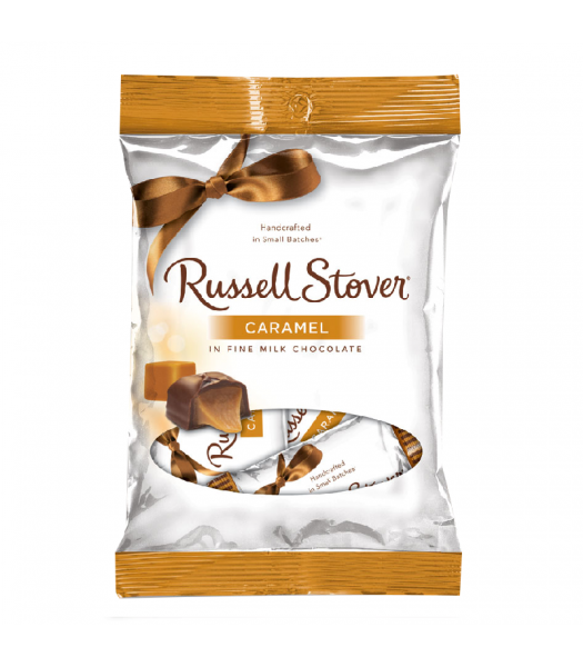 Russell Stover Caramel Milk Chocolate - 2.95oz (84g) Sweets and Candy Russell Stover