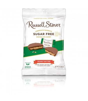 Russell Stover Sugar Free Peanut Butter Cups 3oz (85g) Sugar Free Russell Stover
