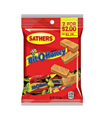 Sathers Bit O Honey 2oz (57g) Sweets and Candy