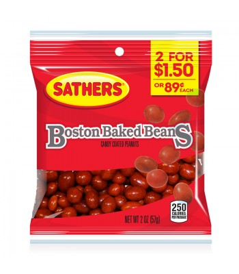 Sathers Boston Baked Beans - 2oz (57g) Sweets and Candy