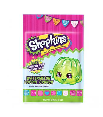 Shopkins Poppin' Crunchy Sweet Candy Mix 0.35oz (10g) Soft Candy