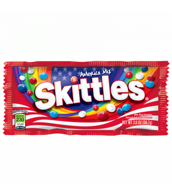 Skittles America Mix 2oz (56.7g)  Soft Candy Skittles