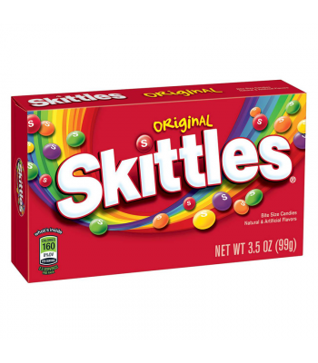 Skittles Original Theatre Box 3.5oz (99g) Soft Candy Skittles