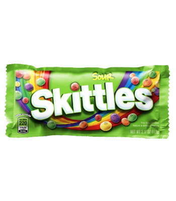 Skittles Sour 1.8oz (51g) Soft Candy Skittles