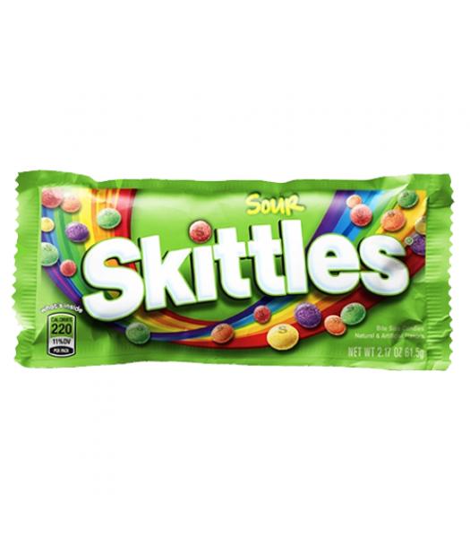 Skittles Sour 1.8oz (51g) Soft Candy Skittles