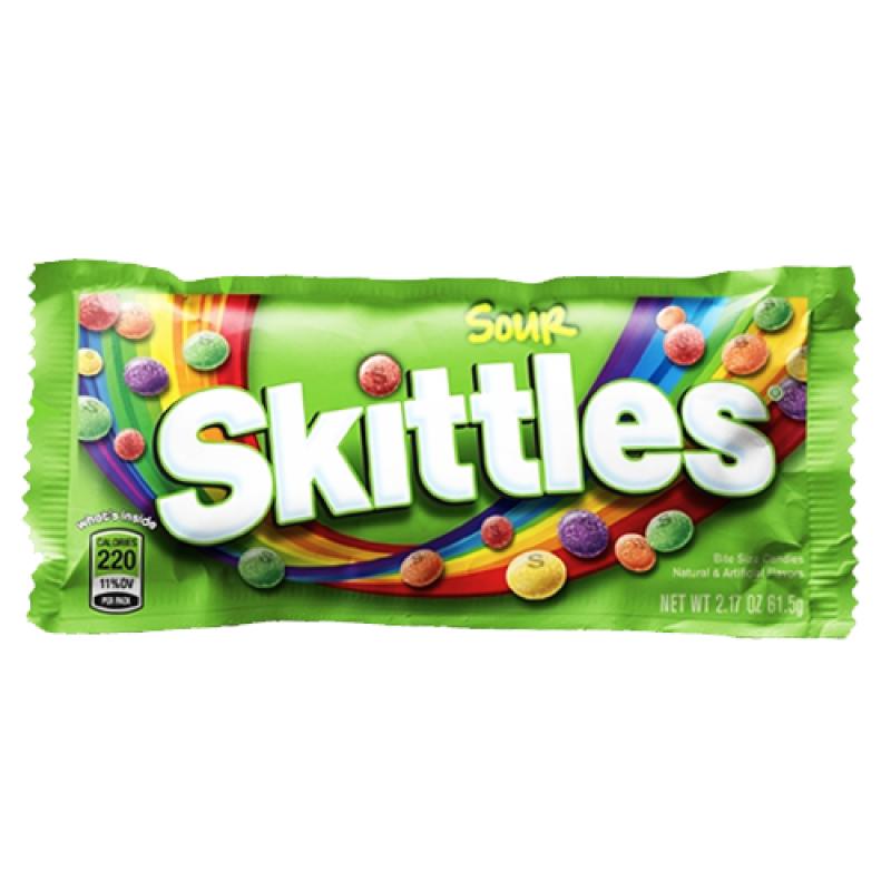 skittles sour 18oz 51g american fizz