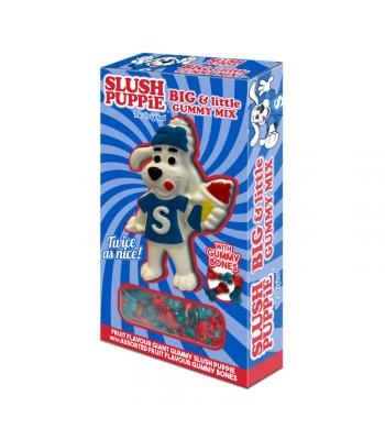 Slush Puppie Big & Little Gummy Mix - 720g Sweets and Candy Slush Puppie