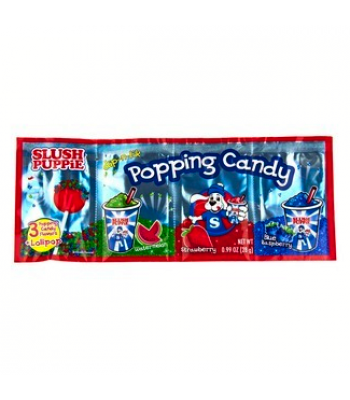 Slush Puppie Popping Candy With Lollipop 1oz (28g) Lollipops Slush Puppie