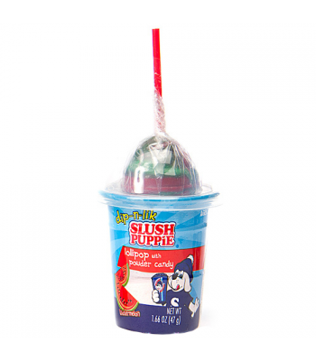 Slush Puppie Candy Dip-N-Lick Watermelon 1.66oz (47g) Lollipops Slush Puppie