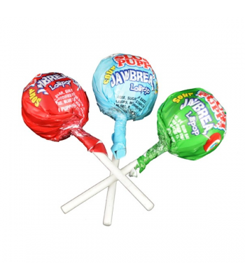 Slush Puppie Sour Jaw Breaker Lollipop 1.16oz (33g) Lollipops Slush Puppie