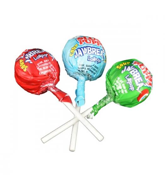 Slush Puppie Sour Jaw Breaker Lollipop 1.16oz (33g) Lollipops Slush Puppie