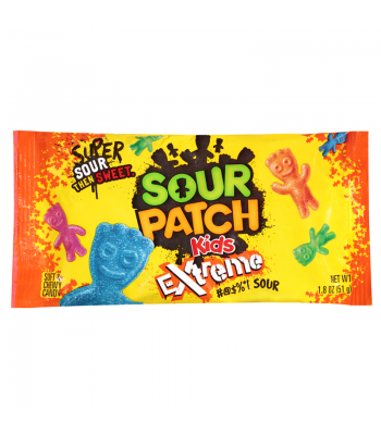 Sour Patch Extreme 1.8oz (51g)  Soft Candy Sour Patch