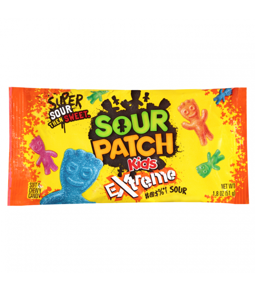 Sour Patch Extreme 1.8oz (51g)  Sweets and Candy Sour Patch
