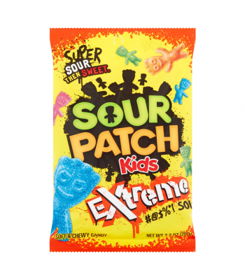 Sour Patch Kids Extreme Peg Bag - 7.2oz (204g) Soft Candy Sour Patch