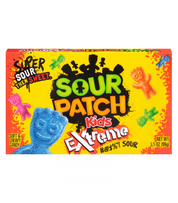 Sour Patch Kids Extreme 3.5oz Theatre Box (99g) Sweets and Candy Sour Patch