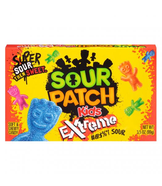 Sour Patch Kids Extreme 3.5oz Theatre Box (99g) Soft Candy Sour Patch
