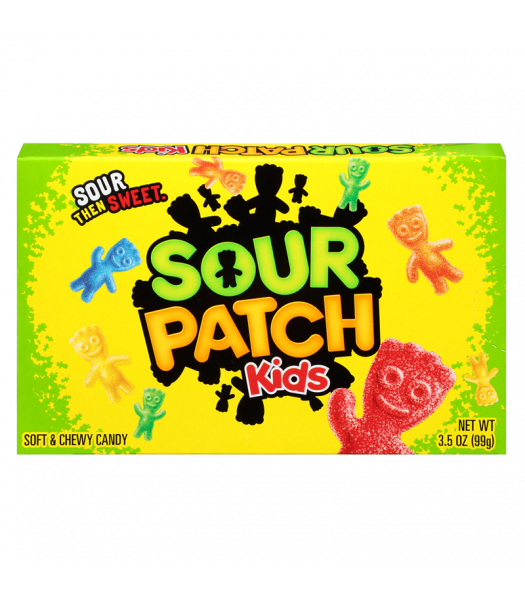 Clearance Special - Sour Patch Kids Original 3.5oz Theatre Box (99g)  **Best Before: Jan 20** Clearance Zone
