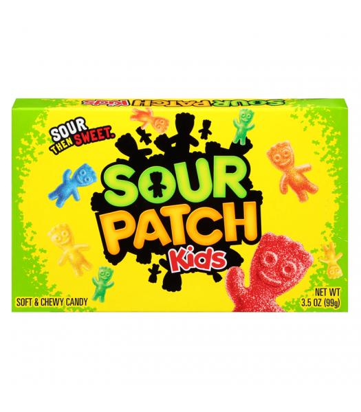 Sour Patch Kids Original 3.5oz Theatre Box (99g) Soft Candy Sour Patch