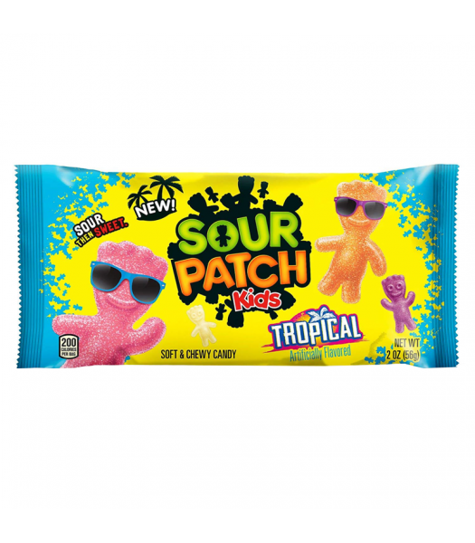 Sour Patch Kids Tropical - 2oz (56g) Sweets and Candy Sour Patch