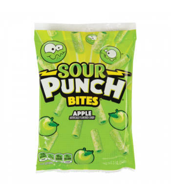 Sour Punch Apple Bites - 5oz (142g) Sweets and Candy