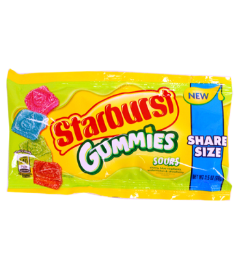 Starburst Gummies Sours Share Size - 3.5oz (99g) Clearance Zone
