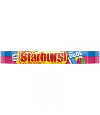 Starburst DUOS Fruit Chews - 2.07oz (58.7g) Sweets and Candy Starburst