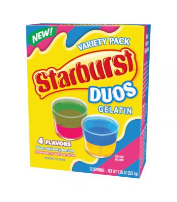 Starburst DUOS Gelatin Variety Pack - 7.85oz (222.7g) Food and Groceries Starburst