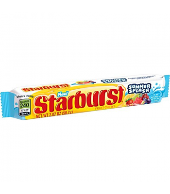 Starburst Summer Splash Chews 2.07oz (58.7g) Soft Candy Starburst