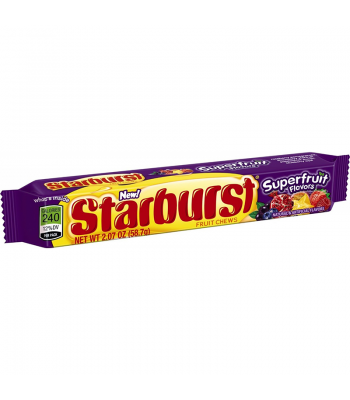 Starburst Superfruit Chews 2.07oz (58.7g) Starburst