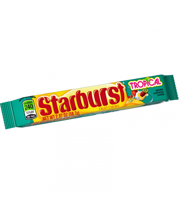 Starburst Tropical Fruit Chews 2.07oz (58.7g) Soft Candy Starburst