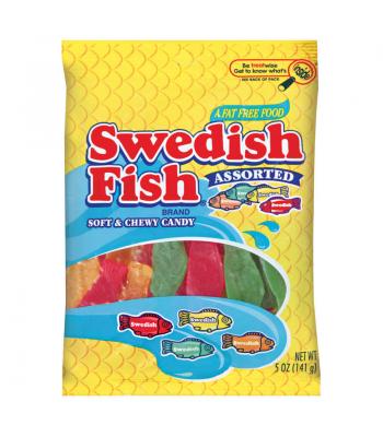 Swedish Fish Assorted Peg Bag 5oz (142g)