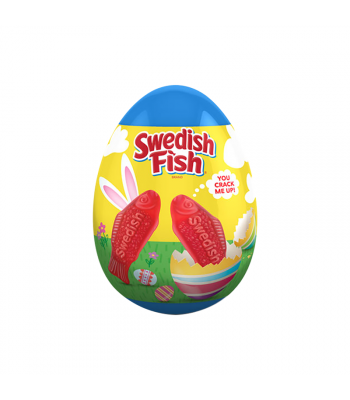 Swedish Fish Easter Egg - 1oz (30g) Sweets and Candy Swedish Fish