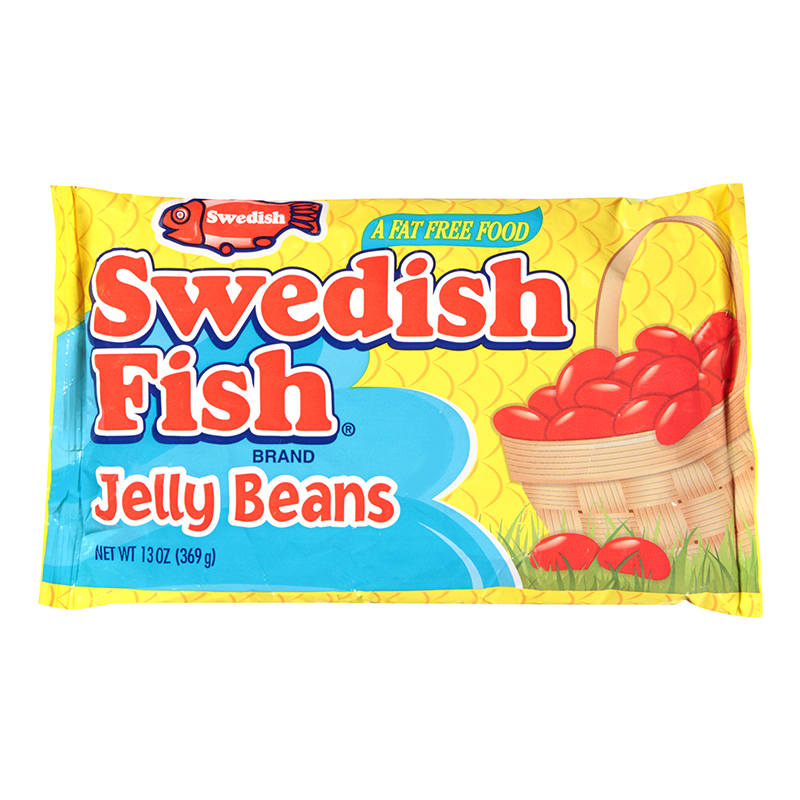 swedish fish jelly beans 13oz 368g american fizz