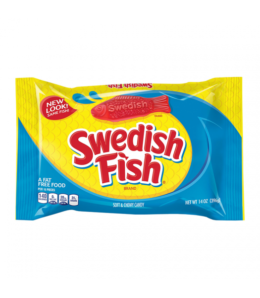 Swedish Fish Red - 14oz (396g) Sweets and Candy Swedish Fish