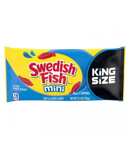Swedish Fish Red Mini King Size - 3.4oz (96g) Sweets and Candy Swedish Fish